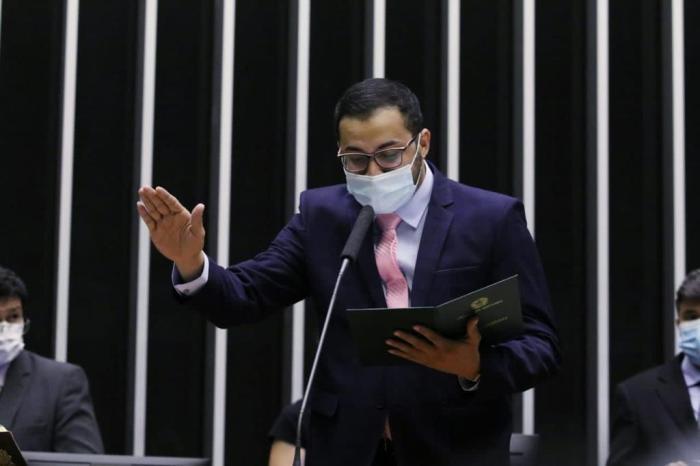 Rafafá toma posse como deputado federal