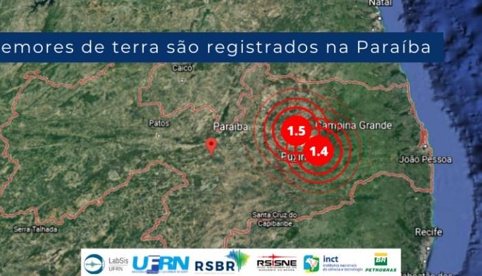Tremores de terra na Paraíba: Cidades registram fenômeno