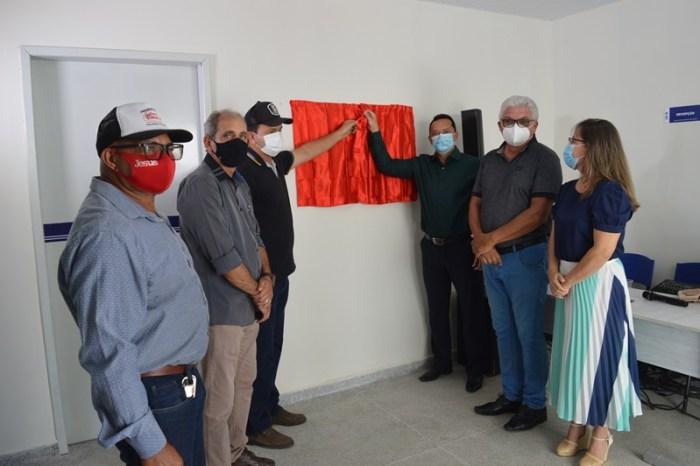 Prefeitura de Sumé entrega Unidade Básica de Saúde de Terra Vermelha