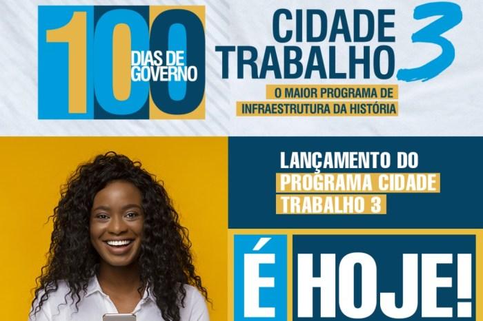 Com 80% de aprovação, Lorena comemora 100 dias de governo e lança Cidade Trabalho 3