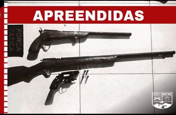 Polícia Militar prende homem na zona rural de Monteiro por posse ilegal de arma de fogo