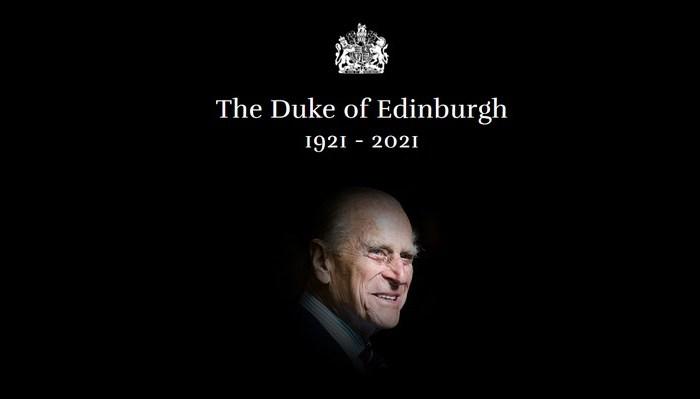 Palácio de Buckingham anuncia morte do Príncipe Philip