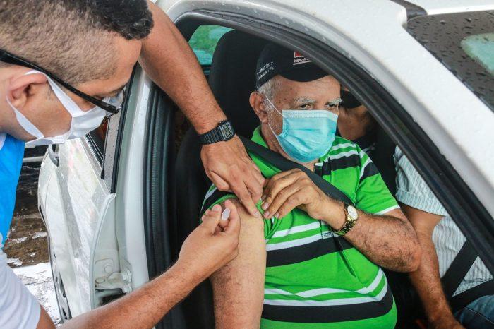 Vacinação Covid-19: 178 municípios já utilizaram mais de 80% das doses recebidas