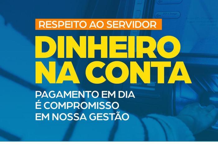 Prefeitura de Serra Branca antecipa pagamento dos servidores referente ao mês de Maio
