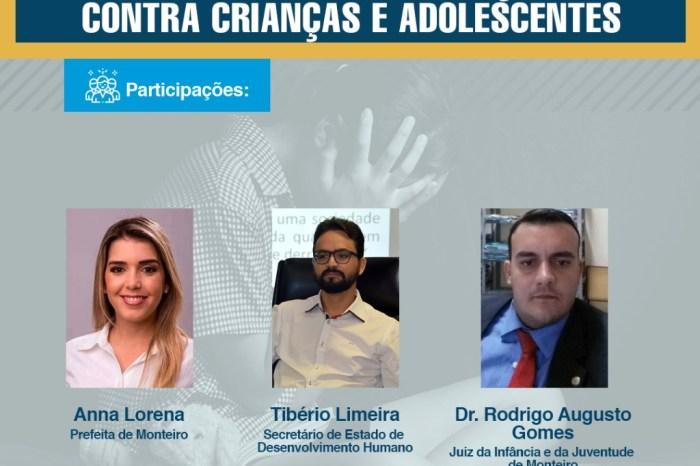 Desenvolvimento Social de Monteiro realiza programação online alusiva ao dia 18 de Maio