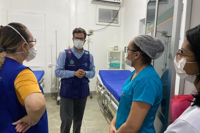 Secretário Daniel Beltrammi visita hospitais da rede estadual de saúde em Patos e avalia ampliação de leitos para Covid-19