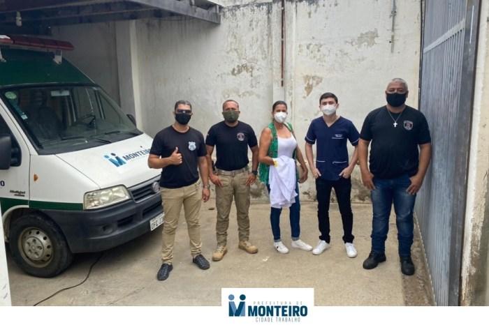 MONTEIRO: Programa Mais Sorrisos atende população privada de liberdade