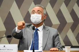 """""""Vossa excelência mente"""", diz senador governista para Renan na CPI da Covid"""