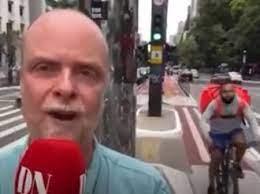 Jornalista sueco sofre tentativa de furto durante gravação na Av. Paulista