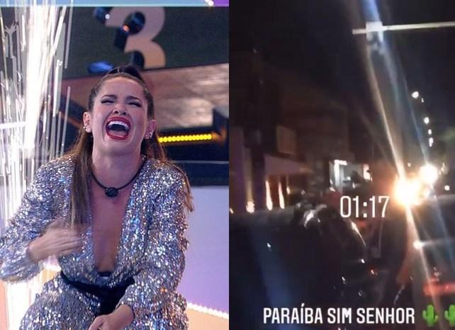 MOÍDOS DA REDAÇÃO: João Pessoa e Campina Grande têm fogos, gritos e carreata pela vitória de Juliette no BBB