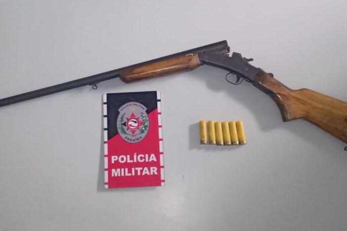 Polícia prende dupla suspeita de tentativa de homicídio e apreende arma de fogo no Vale do Piancó