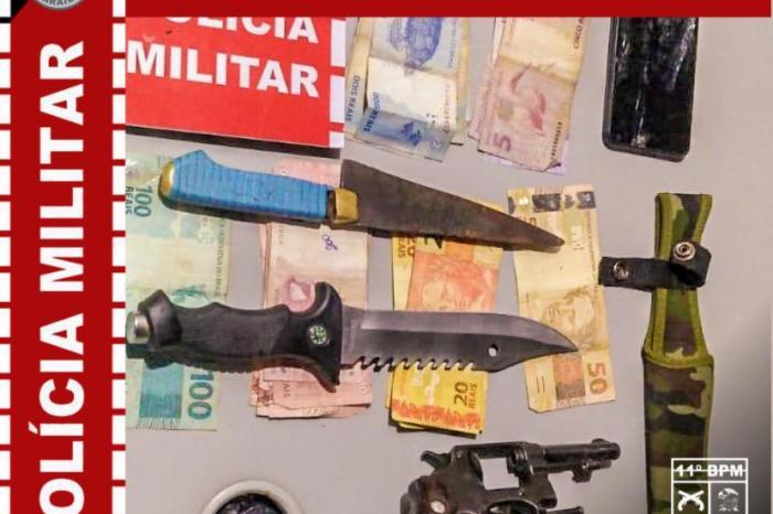Polícia Militar apreende menor com arma de fogo em Monteiro
