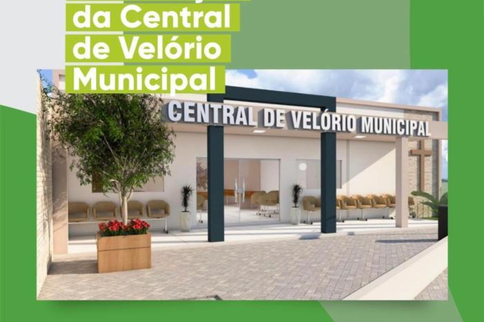 Prefeito de Ouro Velho anuncia construção de nova central de velórios