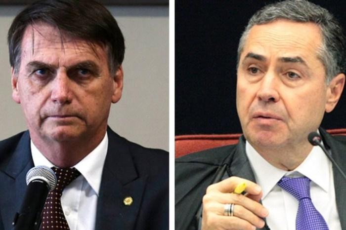 'É um escárnio o que o Barroso fez', diz Bolsonaro