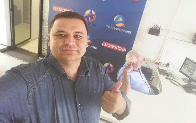 Morre aos 44 anos, vítima da covid-19, radialista da Arapuan FM, Fábio Diniz
