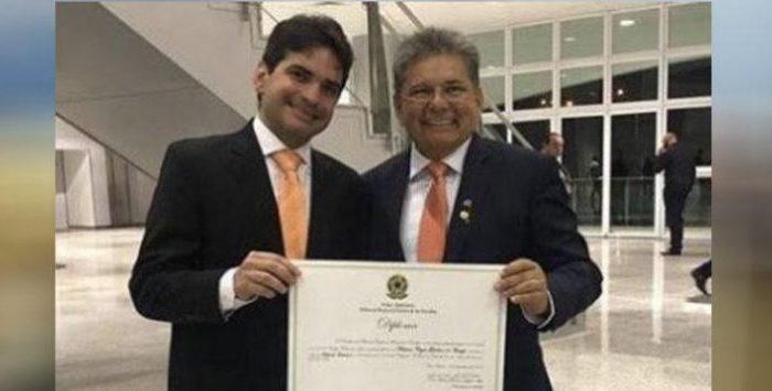 Adriano Galdino confirma candidatura de seu irmão Murilo Galdino a deputado federal