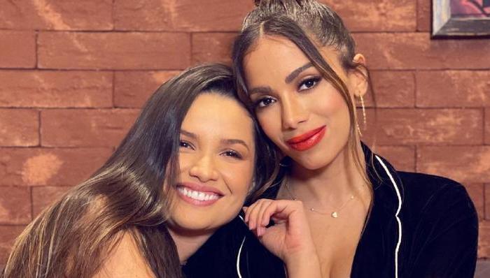 Após se conhecerem, Anitta e Juliette trocam declarações na web: ''Já virou da família''