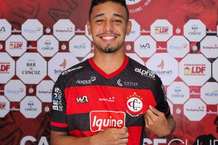 Campinense contrata meia com passagens pelas bases do Ceará e Vasco