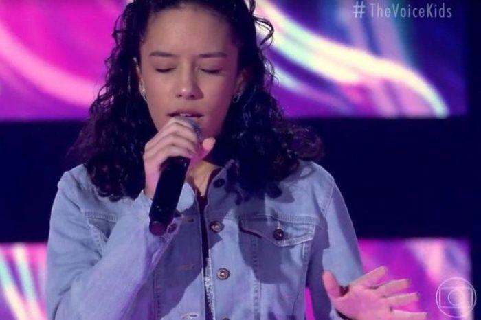 Paraibana encanta jurados e avança para próxima fase do The Voice Kids 2021