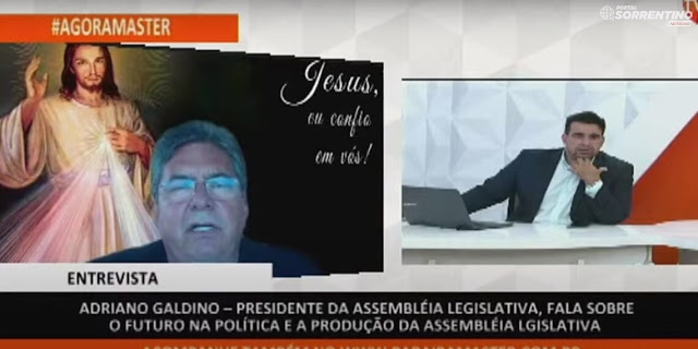 """""""O governo João Azevêdo só perde para ele mesmo; oposição muito pequena"""", diz Galdino"""