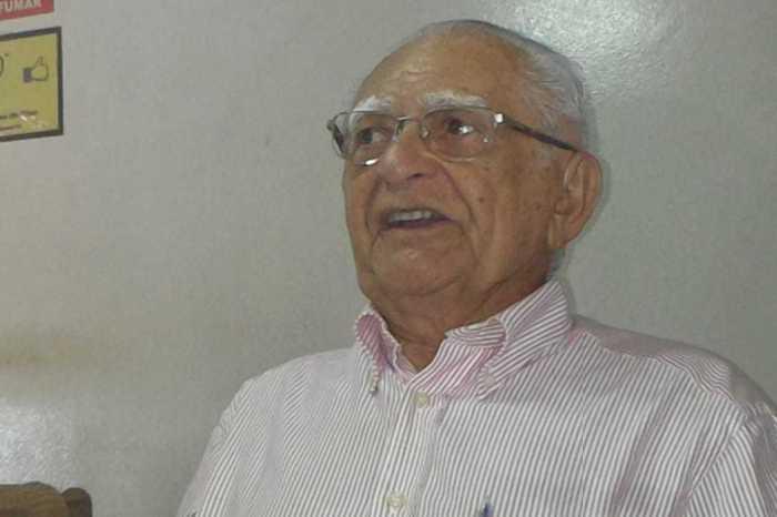 Ex-deputado Evaldo Gonçalves comemora 88 anos de idade nesta terça-feira
