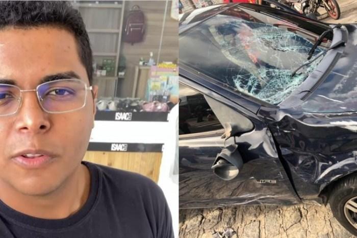 Motociclista morre ao ser atingido por motorista embriagado, em João Pessoa
