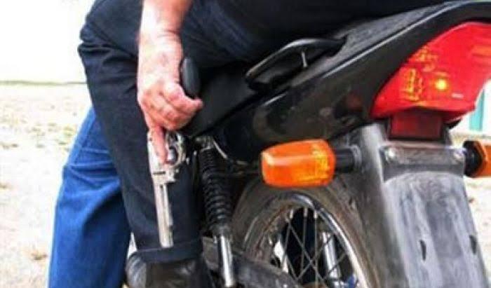 Bandidos fazem arrastão em cidade do Cariri e fogem levando motos e celulares