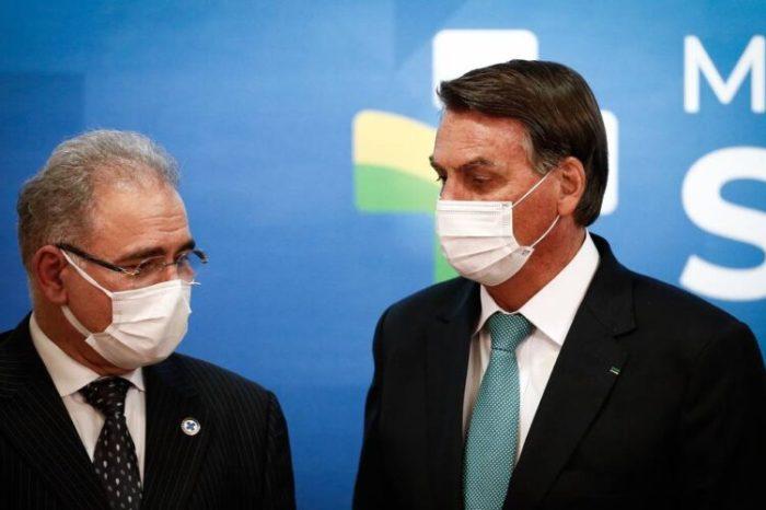 Desobrigação do uso de máscaras gera crise entre ministro paraibano e Bolsonaro, aponta mídia nacional