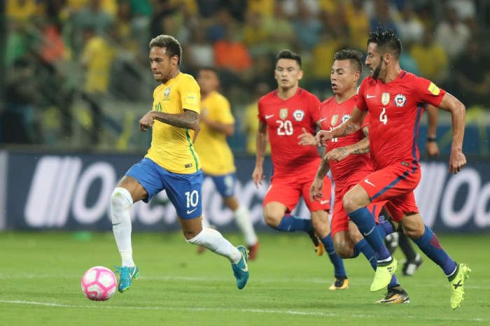 Veja os confrontos das quartas da Copa América; Brasil enfrentará o Chile