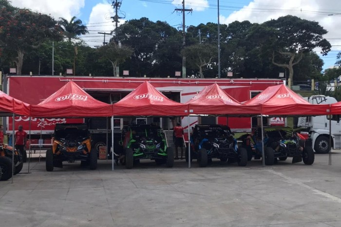 Campina Grande sedia 23ª edição do Rally do Nordeste