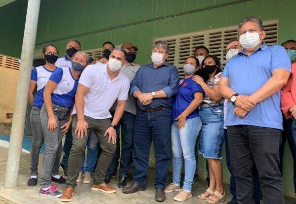 João Azevêdo garante a reforma da Escola Estadual Bartolomeu Maracajá em São José dos Cordeiros