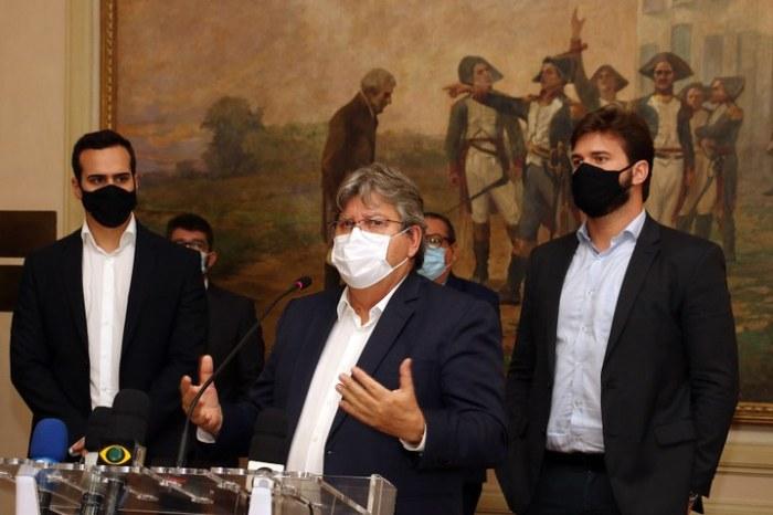Governador João Azevêdo se reúne com Bruno Cunha Lima na próxima quinta-feira