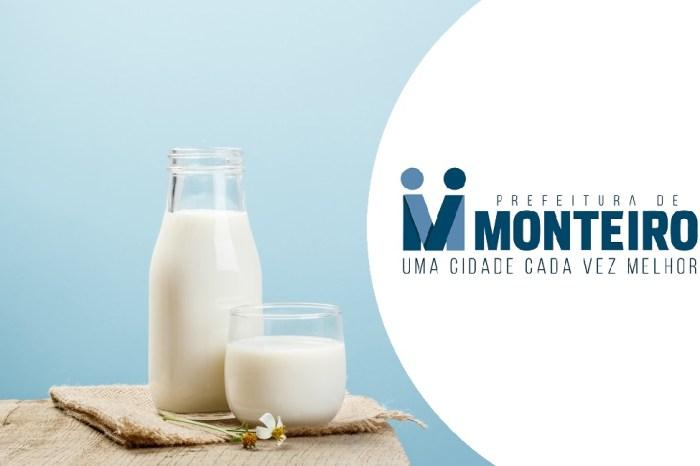 Monteiro: Secretaria realiza recadastramento para o Programa Leite da Paraíba