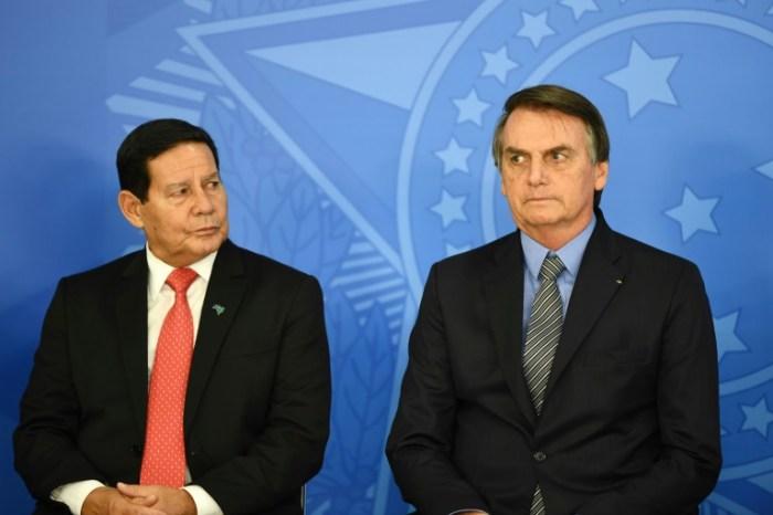 'As eleições serão realizadas', diz Mourão após fala de Bolsonaro