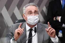 """Renan Calheiros, sobre Bolsonaro: """"Tem de estar internado"""""""