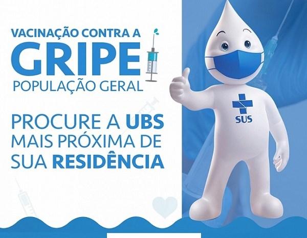 Secretaria de Saúde de Monteiro amplia vacinação contra a gripe para a população geral