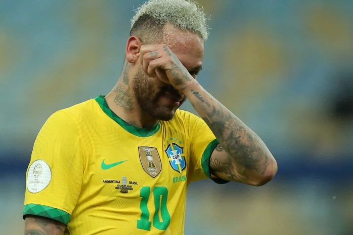'Perder me machuca, me dói', desabafa Neymar após derrota na Copa América