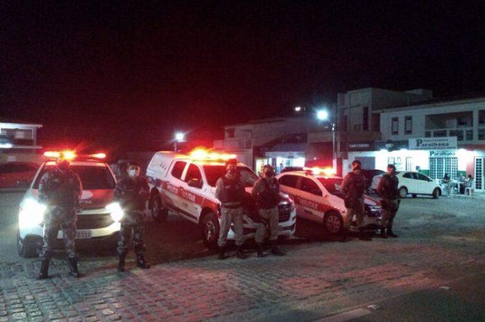 Polícia prende 126 suspeitos nas ações de combate ao crime no fim de semana