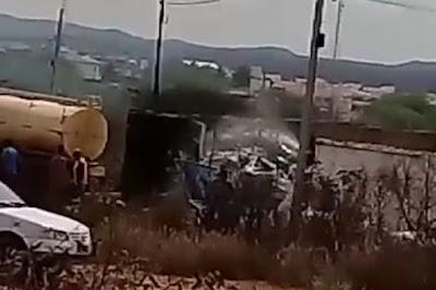 Incêndio atinge depósito de reciclagem em Monteiro