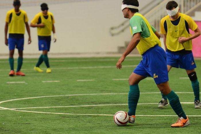 Brasil vence a China por 3 a 0 na estreia no futebol de 5 em Tóquio