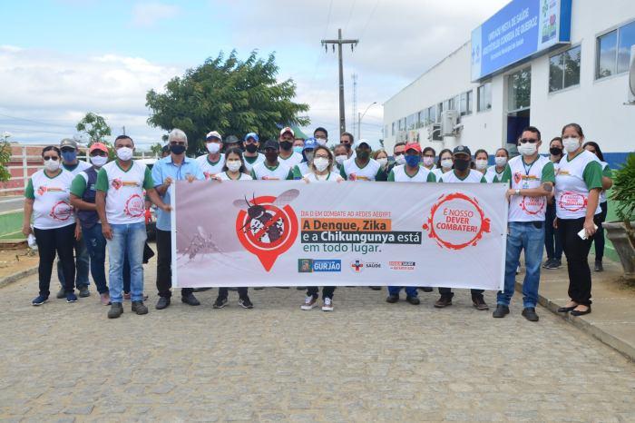 Município do Cariri promove ação 'Dia D' em combate à Dengue