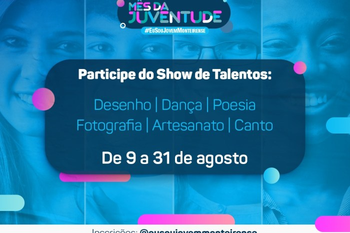 Monteiro: Prefeitura comemora Mês da Juventude com diversas ações
