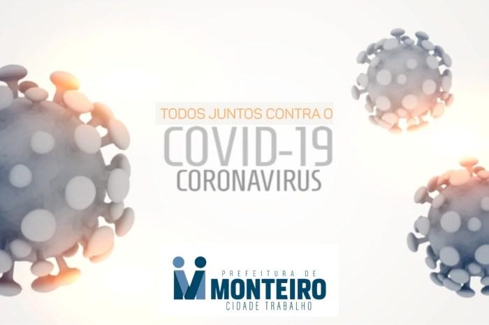 Monteiro completa 30 dias sem óbitos por Covid e casos de infecção caem 80%