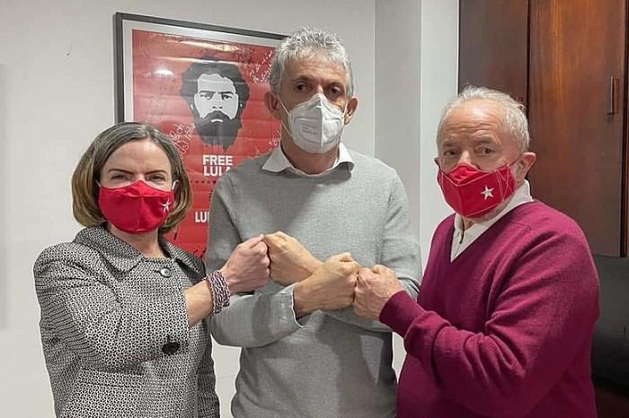 MOÍDOS DA REDAÇÃO: Gleisi Hoffmann confirma a Gervásio Maia que  Ricardo Coutinho vai se filiar ao PT
