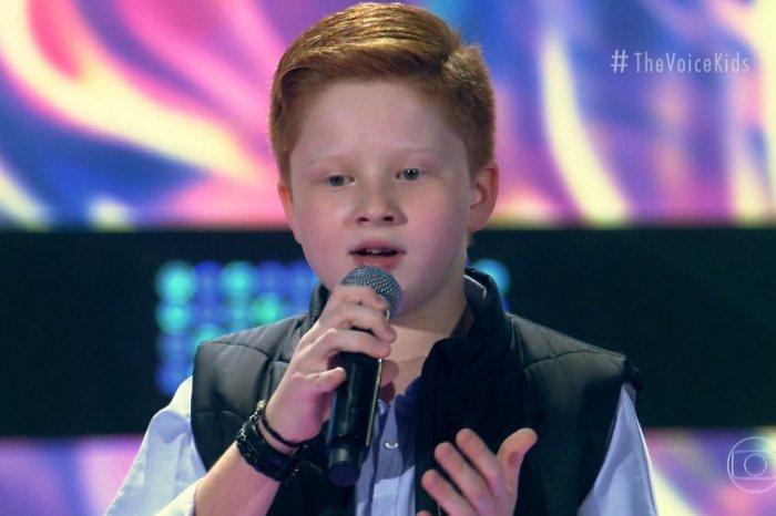 'The Voice Kids': Gustavo Bardim, do Time Teló, é o grande vencedor da sexta temporada