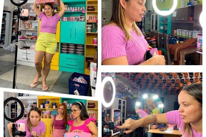 Empreendedora caririzeira se destaca promovendo 'Live Shop'