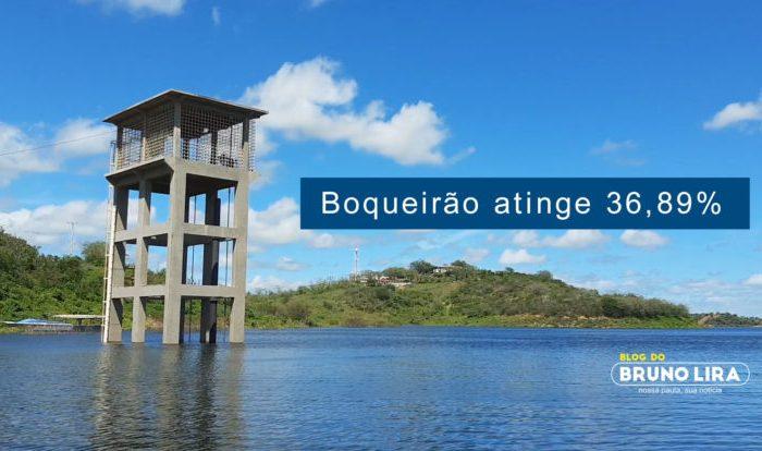 Açude de Boqueirão tem baixa e atinge 36,89% de sua capacidade, nesta quarta feira