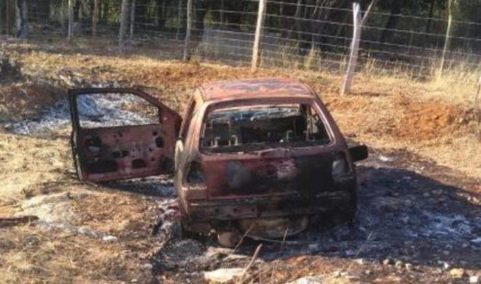 Corpo é encontrado carbonizado dentro de carro na região do Cariri
