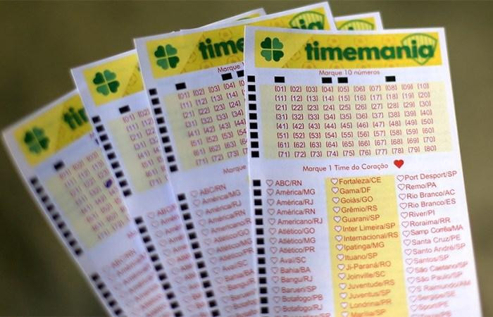 Aposta da Paraíba leva prêmio de R$ 21,6 milhões na Timemania; veja números sorteados