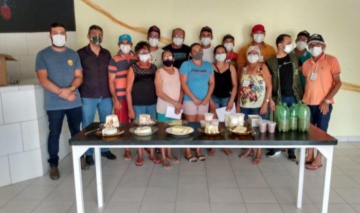 Prefeitura do Cariri promove curso de produção de queijos em parceria com Senar